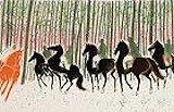 ブラジリエ【雪の森の乗馬】