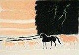 ブラジリエ【夕暮れの馬】