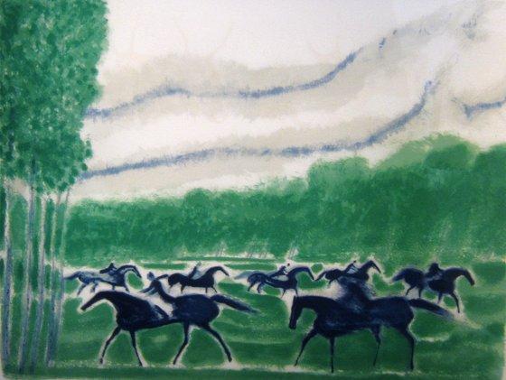 ブラジリエ 『森の乗馬』