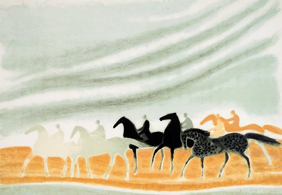 アンドレ・ブラジリエ『アリカンテの騎馬隊』