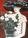 カシニョール【白いバラ】