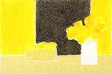 カトラン【レモンと花瓶のある小さな静物】