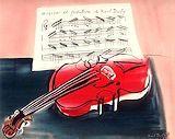 デュフィ【赤いヴァイオリン】