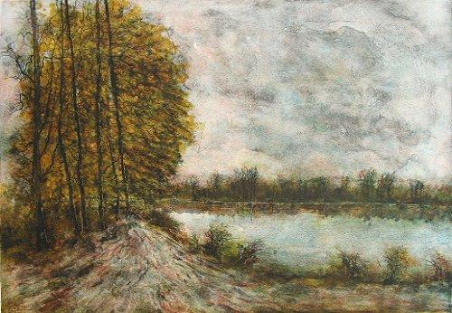 ガントナー 『湖面の反射』