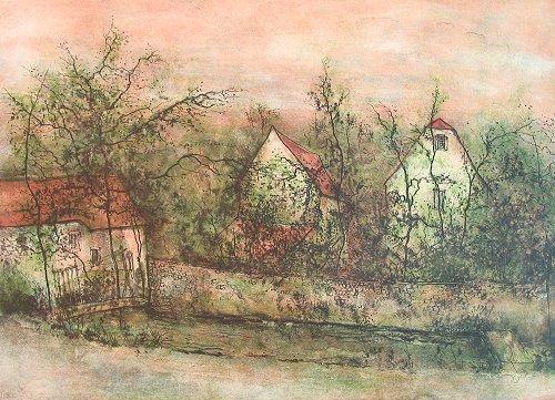 ガントナー『川沿いの家』