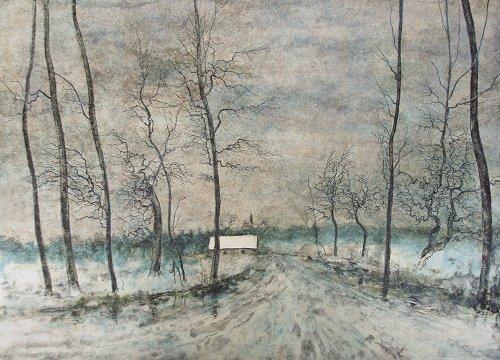 ガントナー『湖畔の畦道』