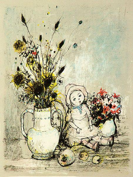 ジャンセン 『人形のある静物』