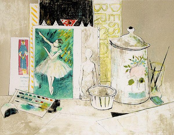 ジャンセン 『踊り子の絵のある静物』