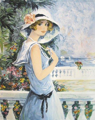 シャロワ『セーヌー服の少女』