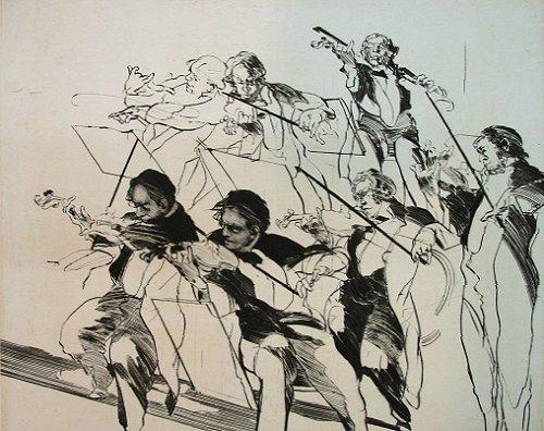 ワイズバッシュ『ヴァイオリニストの習作』