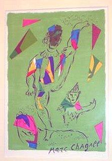 シャガール『緑のアクロバット』